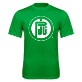 Syntrel Performance Kelly Green Tee-Primary Mark