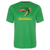 Syntrel Performance Kelly Green Tee-Baseball