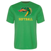 Syntrel Performance Kelly Green Tee-Softball