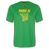Syntrel Performance Kelly Green Tee-Basketball Net