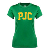 Ladies Syntrel Performance Kelly Green Tee-PJC