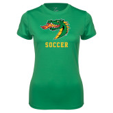 Ladies Syntrel Performance Kelly Green Tee-Soccer