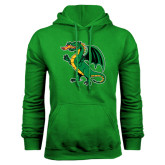 Kelly Green Fleece Hoodie-Secondary Mark