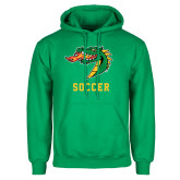 Kelly Green Fleece Hoodie-Soccer