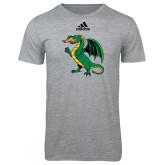 Adidas Sport Grey Logo T Shirt-Secondary Mark