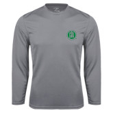 Performance Steel Longsleeve Shirt-Primary Mark