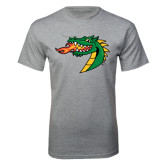 Grey T Shirt-Dragon Head