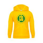 Youth Gold Fleece Hood-Primary Mark