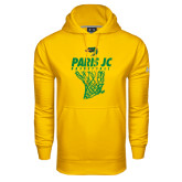 Under Armour Gold Performance Sweats Team Hoodie-Basketball Net