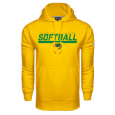Under Armour Gold Performance Sweats Team Hoodie-Softball Line