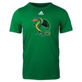 Adidas Kelly Green Logo T Shirt-Secondary Mark