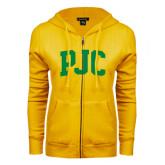 ENZA Ladies Gold Fleece Full Zip Hoodie-PJC