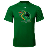 Under Armour Kelly Green Tech Tee-Secondary Mark