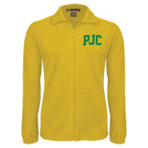Fleece Full Zip Gold Jacket-PJC