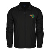Full Zip Black Wind Jacket-Dragon Head