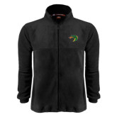 Fleece Full Zip Black Jacket-Dragon Head