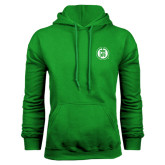 Kelly Green Fleece Hoodie-Primary Mark