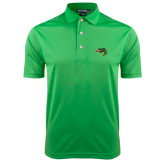 Kelly Green Dry Mesh Polo-Dragon Head