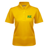 Ladies Gold Dry Mesh Polo-PJC