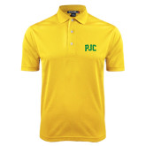 Gold Dry Mesh Polo-PJC