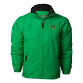 Kelly Green Survivor Jacket-Dragon Head