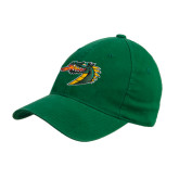 Kelly Green OttoFlex Unstructured Low Profile Hat-Dragon Head