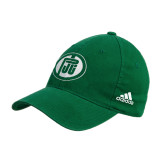 Adidas Kelly Green Slouch Unstructured Low Profile Hat-Primary Mark