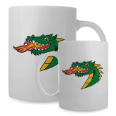 Full Color White Mug 15oz-Dragon Head