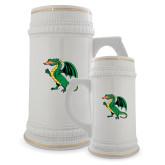 Full Color Decorative Ceramic Mug 22oz-Secondary Mark