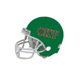 Riddell Replica Kelly Mini Helmet-Greek Letters