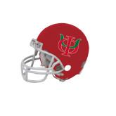 Riddell Replica Red Mini Helmet-Interlocking Greek Letters