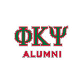 Alumni Decal-Greek Letters, 6 inches wide
