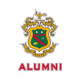 Alumni Decal-Crest, 6 inches tall