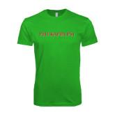 Next Level SoftStyle Kelly Green T Shirt-PHI KAPPA PSI