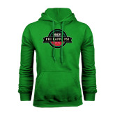 Kelly Green Fleece Hoodie-Official Logo