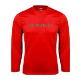 Performance Red Longsleeve Shirt-PHI KAPPA PSI