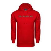 Under Armour Red Performance Sweats Team Hoodie-PHI KAPPA PSI