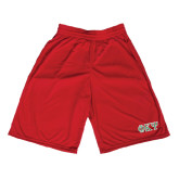Performance Classic Red 9 Inch Short-Greek Letters