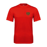 Syntrel Performance Red Tee-Interlocking Greek Letters