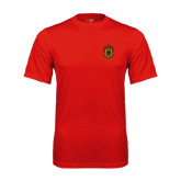 Syntrel Performance Red Tee-Crest