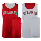 Red/White Reversible Tank-Arched Phi Kappa Psi