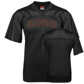 Replica Black Adult Football Jersey-Arched Phi Kappa Psi