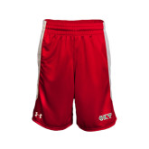 Under Armour Red Fearless Short-Greek Letters