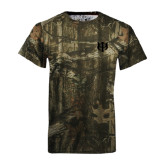 Realtree Camo T Shirt-Interlocking Greek Letters