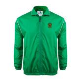 Colorblock Kelly/White Wind Jacket-Crest