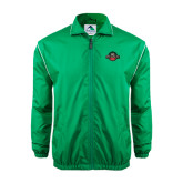 Colorblock Kelly/White Wind Jacket-Official Logo