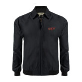Black Players Jacket-Greek Letters