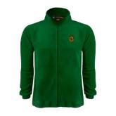 Fleece Full Zip Dark Green Jacket-Crest