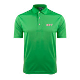 Kelly Green Dry Mesh Polo-Greek Letters