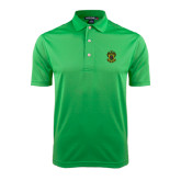 Kelly Green Dry Mesh Polo-Crest